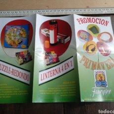 Juguetes antiguos: CATÁLOGO TRÍPTICO PROMOCIÓN PRIMAVERA FOURNIER 93. Lote 176252690