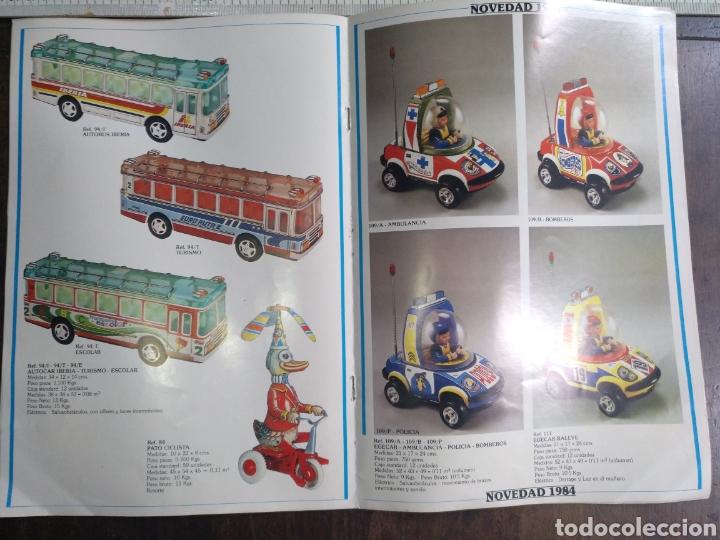 Juguetes antiguos: Catálogo EGE 1984 Y LISTA DE PRECIOS 7 paginas - Foto 3 - 82642928
