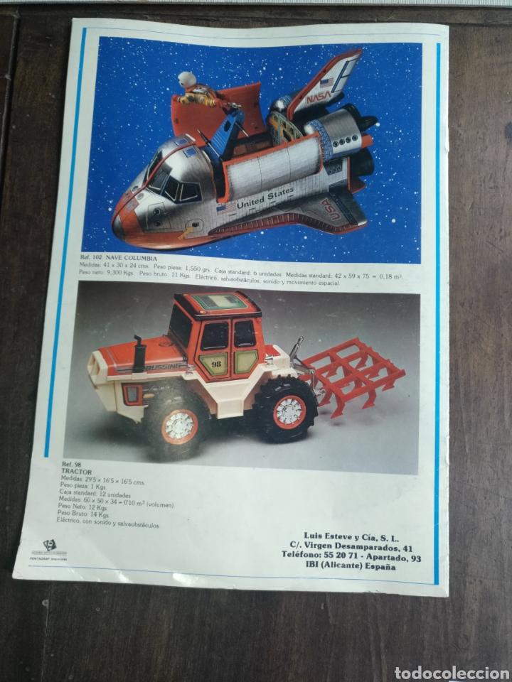 Juguetes antiguos: Catálogo EGE 1984 Y LISTA DE PRECIOS 7 paginas - Foto 5 - 82642928