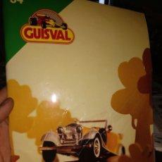 Juguetes antiguos: CATALOGO GUISVAL 1984 49 PÁGINAS. Lote 176284477