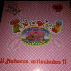 Juguetes antiguos: LOS MOVIS CATALOGO AÑO 1985 8 PAGINAS. Lote 176284917