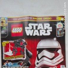 Juguetes antiguos: LEGO : REVISTA LEGO STAR WARS , Nº 38 . SIN LA FIGURA. Lote 176561393
