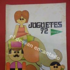Juguetes antiguos: CATÁLOGO JUGUETES EL CORTE INGLES. AÑO 1972. Lote 176643069