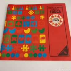 Juguetes antiguos: ANTIGUO CATÁLOGO DE 1973 DE JUEGOS Y PUZZLES DE LA MARCA EDUCA. Lote 296770758