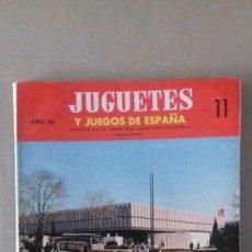 Juguetes antiguos: REVISTA JUGUETES Y JUEGOS DE ESPAÑA. Lote 176945532