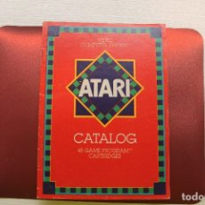 Giocattoli antichi: CATÁLOGO ATARI 1982, EN INGLÉS. Lote 176975727