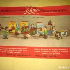 Juguetes antiguos: FOLLETO SCHUCO - 29.50X21CM . Lote 177417904