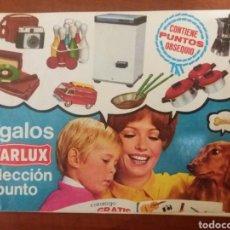 Juguetes antiguos: CATÁLOGO STARLUX 1968.. Lote 177720588