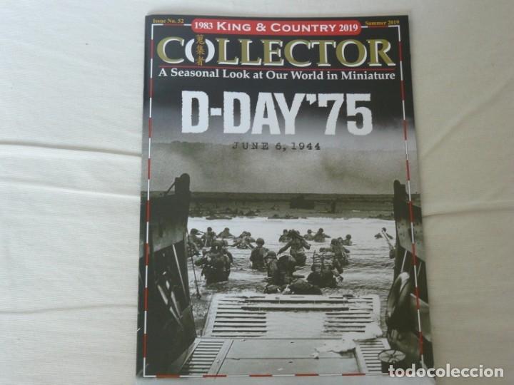KING & COUNTRY COLLECTOR Nº 52 75 ANIVERSARIO DEL DIA D, 6 DE JUNIO DE 1944 (SUMMER 2019) (Juguetes - Catálogos y Revistas de Juguetes)