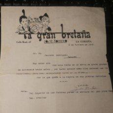 Giocattoli antichi: LA CASA DE LOS NIÑOS. LA GRAN BRETAÑA. 1939. LA CORUÑA. Lote 178383536