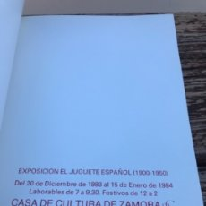 Juguetes antiguos: JUGUETE ESPAÑOL, 1900-1950. Lote 178595787