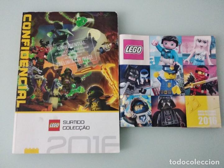 LEGO: SET 7223 Y CATÁLOGO COMERCIAL 2016 + EXTRA SEGUNDO SEMESTRE 2016 (Juguetes - Catálogos y Revistas de Juguetes)