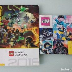 Juguetes antiguos: LEGO: SET 7223 Y CATÁLOGO COMERCIAL 2016 + EXTRA SEGUNDO SEMESTRE 2016. Lote 178608937
