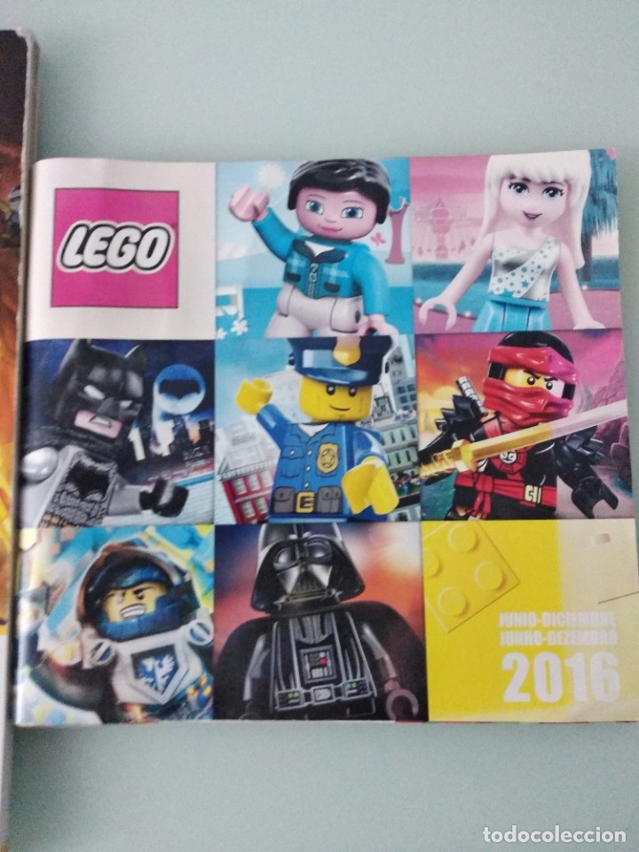 Juguetes antiguos: LEGO: set 7223 y catálogo comercial 2016 + extra segundo semestre 2016 - Foto 4 - 178608937