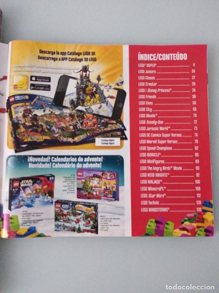 Juguetes antiguos: LEGO: set 7223 y catálogo comercial 2016 + extra segundo semestre 2016 - Foto 5 - 178608937
