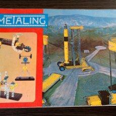 Juguetes antiguos: MANUAL DE INSTRUCCIONES METALING Nº 3 DE 1970 NOVEDADES POCH. Lote 178949890