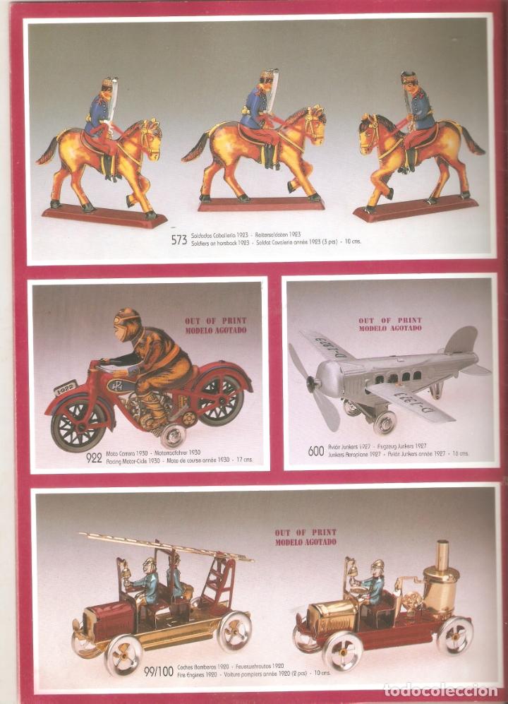 Juguetes antiguos: Paya, linea HIstorica.series limitadas. 21 x 29 cms. 36 paginas. . .Vell i Bell - Foto 3 - 178970842