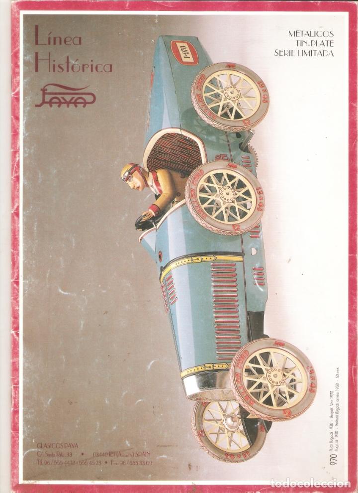 PAYA, LINEA HISTORICA.SERIES LIMITADAS. 21 X 29 CMS. 36 PAGINAS. . .VELL I BELL (Juguetes - Catálogos y Revistas de Juguetes)
