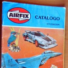 Juguetes antiguos: AIRFIX CATÁLOGO 17EDICION AÑO 1979 BUEN ESTADO 65 PAGINAS. Lote 179237490