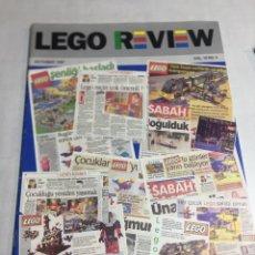Juguetes antiguos: CATALOGO LEGO REVEW - VOL.19 - NO.5 - AÑO 1997. Lote 179956513