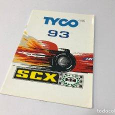 Juguetes antiguos: CATALOGO SCALEXTRIC TYCO 1993 - 93 SCX (NO EXIN). Lote 180414275