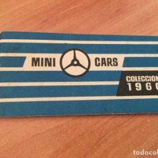 Juguetes antiguos: CATALOGO MINI CARS ANGUPLAS MINIATURAS PERFECTAS COLECCION 1960 (COIB36). Lote 180508992