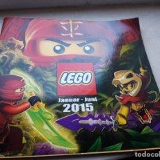 Juguetes antiguos: CATÁLOGO LEGO ENERO- JUNIO 2015. Lote 181207121