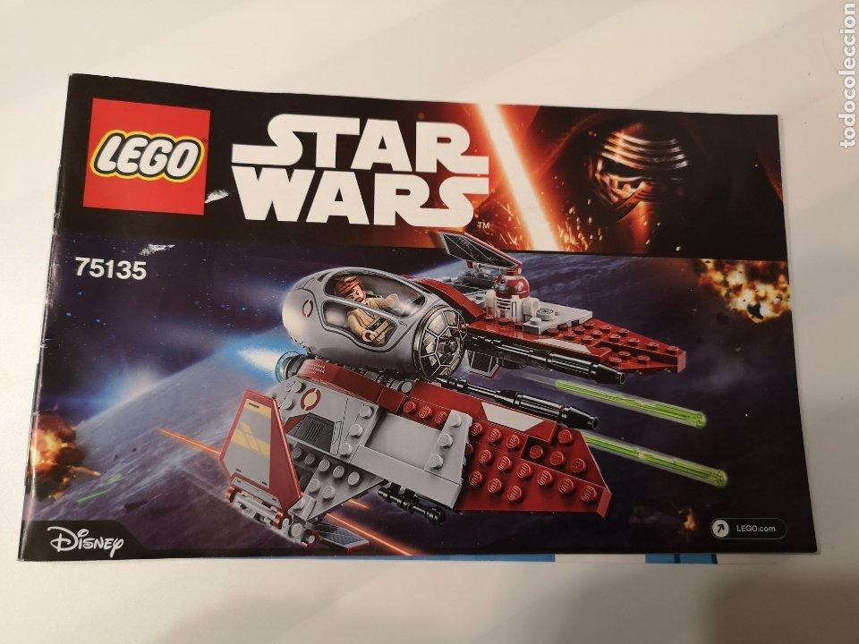 A5 LEGO. INSTRUCCIONES. STAR WARS. 75135 (Juguetes - Catálogos y Revistas de Juguetes)