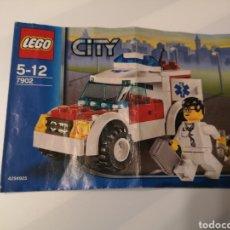 Juguetes antiguos: A5 INSTRUCCIONES. LEGO. 7902. CITY. Lote 182123732