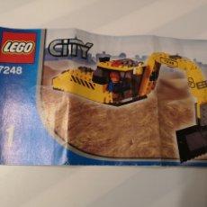 Juguetes antiguos: A5. INSTRUCCIONES. LEGO. CITY. 7248. Lote 182124121