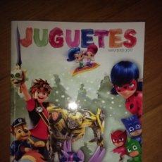 Juguetes antiguos: CATÁLOGO DE JUGUETES EL CORTE INGLÉS NAVIDAD 2017. Lote 182419362