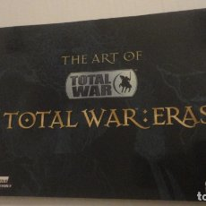 Juguetes antiguos: THE ART OF TOTAL WAR ERAS SEGA CREATIVE ASSEMBLY. 2006. Lote 182564323