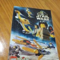 Juguetes antiguos: STAR WARS.LEGO.CATÁLOGO. Lote 182783421