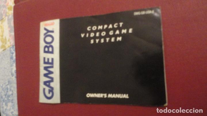 OWNER'S MANUAL.GAME BOY NINTENDO 1989 (Juguetes - Catálogos y Revistas de Juguetes)