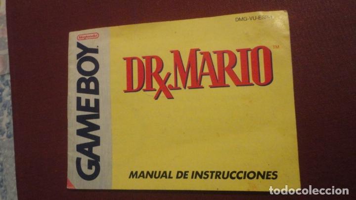 ANTIGUO MANUAL DE INSTRUCCIONES.DR.MARIO.GAME BOY NINTENDO 1991 (Juguetes - Catálogos y Revistas de Juguetes)