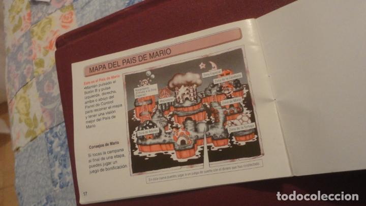 Juguetes antiguos: ANTIGUO MANUAL INSTRUCCIONES.SUPER MARIO LAND 6 GOLDEN COINS.GAME BOY.NINTENDO 1992 - Foto 6 - 182845033