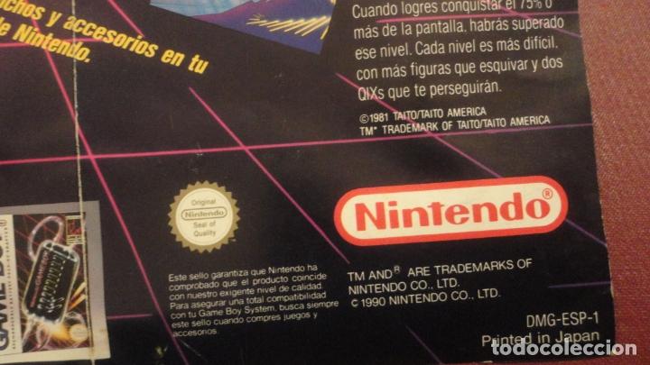 Juguetes antiguos: ANTIGUO FOLLETO DESPLEGABLE.GAME BOY NINTENDO 1990 - Foto 3 - 182845437