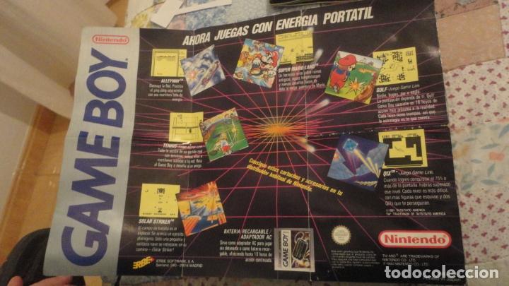 ANTIGUO FOLLETO DESPLEGABLE.GAME BOY NINTENDO 1990 (Juguetes - Catálogos y Revistas de Juguetes)