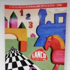 Juguetes antiguos: CATALOGO JUGUETES LANCO 1996. Lote 183531592