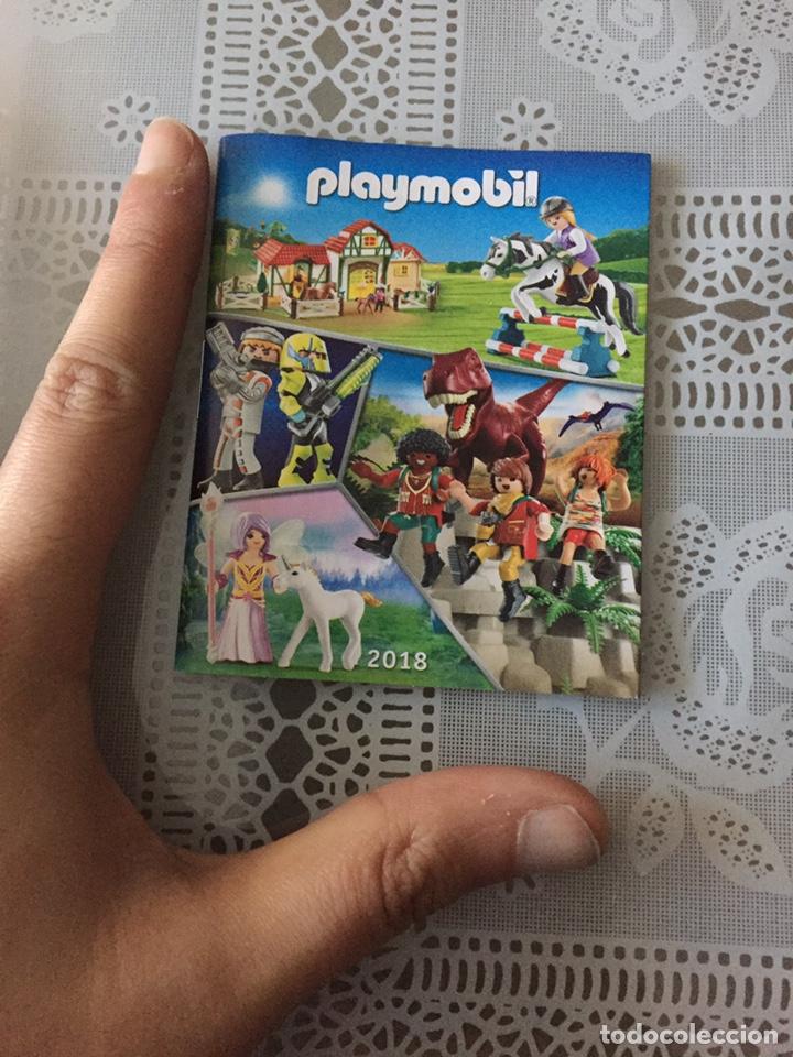 Juguetes antiguos: Playmobil mini catálogo. 2018. Grapa. Geobra - Foto 2 - 184834142