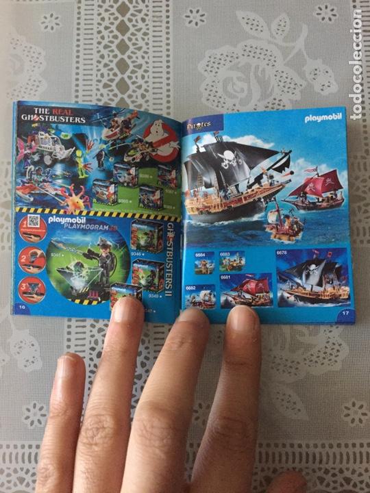 Juguetes antiguos: Playmobil mini catálogo. 2018. Grapa. Geobra - Foto 3 - 184834142