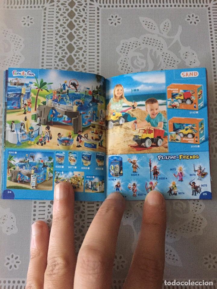 Juguetes antiguos: Playmobil mini catálogo. 2018. Grapa. Geobra - Foto 4 - 184834142
