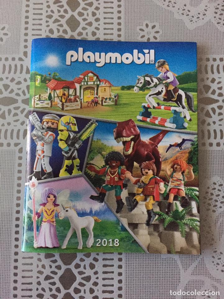PLAYMOBIL MINI CATÁLOGO. 2018. GRAPA. GEOBRA (Juguetes - Catálogos y Revistas de Juguetes)