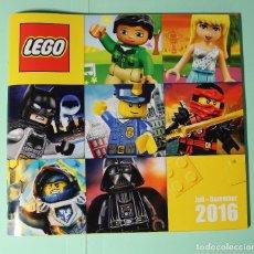Juguetes antiguos: CATALOGO ALEMAN. LEGO 2016 (JUL-DIC). EXCELENTE. 132 PAGINAS. MEDIDAS 21 X 19,5 CM.. Lote 186307306