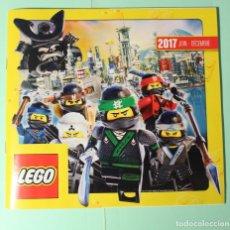 Juguetes antiguos: CATALOGO ALEMAN. LEGO 2017 (JUN-DIC). EXCELENTE. 84 PAGINAS. MEDIDAS 21 X 19,5 CM.. Lote 186307497