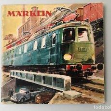 Juguetes antiguos: MARKLIN CATLOGO EN CASTELLANO DEL AÑO 1958. Lote 187091573