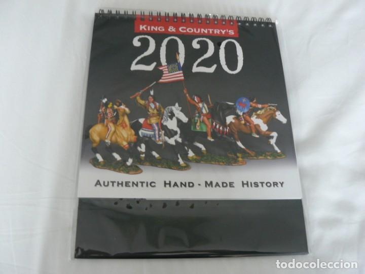 CALENDARIO KING & COUNTRY 2020 NUEVO Y PRECINTADO CON SU PLASTICO (Juguetes - Catálogos y Revistas de Juguetes)