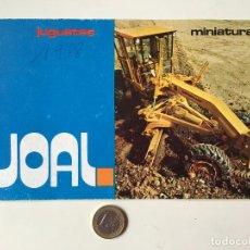 Brinquedos antigos: JOAL CATALOGO DEL AÑO 1978. Lote 190182006
