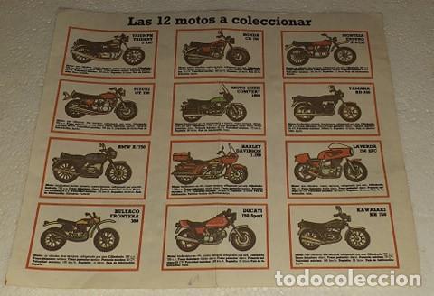 CATALOGO CUETARA LAS 12 MOTOS A COLECCIONAR (Juguetes - Catálogos y Revistas de Juguetes)