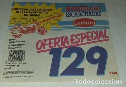 Juguetes antiguos: CATALOGO CUETARA LAS 12 MOTOS A COLECCIONAR - Foto 2 - 190925518